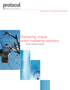 Delivering unique direct marketing solutions for the energy industry.